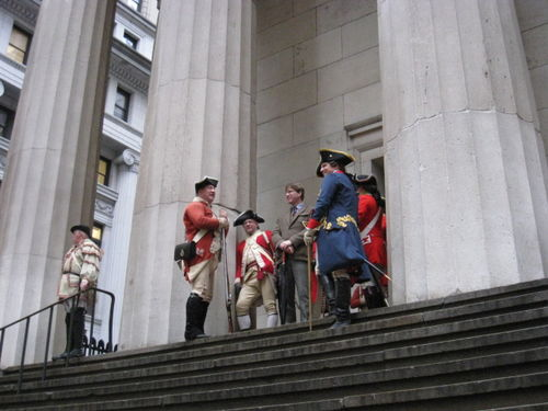 Federal hall evacuation day