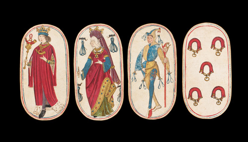 Medieval playing cards