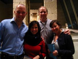 Robert Westfield, Sarah Gippin, Doug Nervik and Becca Gippin