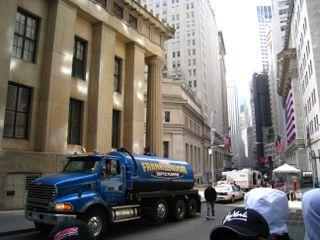 Wall street needs a septic pump