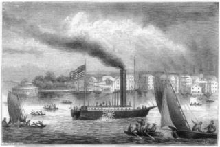 Robert fulton's steamship